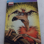 Star Wars Galaxy 1993 Topps #105 Sam Kieth Trading card